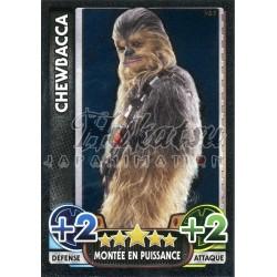 187/230 Carte brillante : Chewbacca