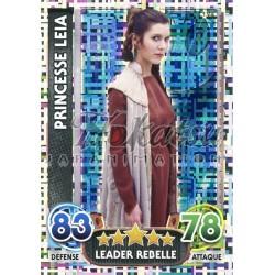 194/230 Carte Holographique : Princesse Leia