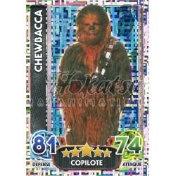 196/230 Carte Holographique : Chewbacca