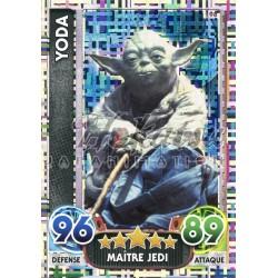 198/230 Carte Holographique : Yoda