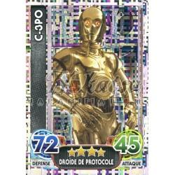 200/230 Carte Holographique : C-3PO