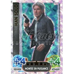 213/230 Carte Holographique SW : Han Solo