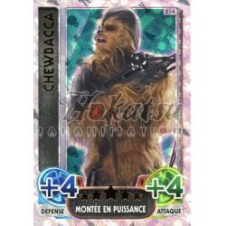 214/230 Carte Holographique SW : Chewbacca