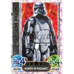 219/230 Carte Holographique SW : Capitaine Phasma