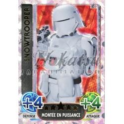 222/230 Carte Holographique SW : Snowtrooper