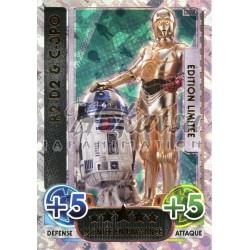 LEDA Carte Limitée : LEDA R2-D2 & C-3PO