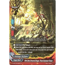 BFE Foil F-H-PP01/0019EN Fifth Omni Armored Dragon, Flame Summoner Rando