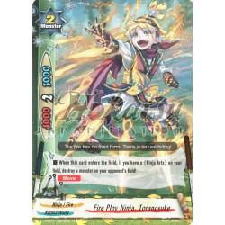 BFE Foil F-H-PP01/0025EN Fire Ploy Ninja, Toranosuke