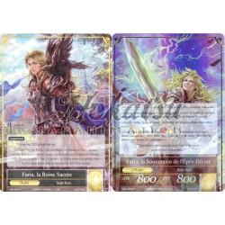 SKL-007  Faria, la Reine Sacrée/Faria, la Souveraine de l'Épée Divine