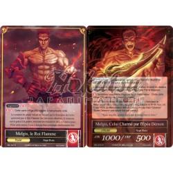 SKL-027  Melgis, le Roi Flamme/Melgis, Celui Charmé par l'Épée Démon