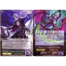 SKL-077  Rezzard, le Seigneur Mort-Vivant/Rezzard, le Vampire Profanateur