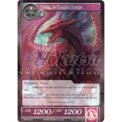 F SKL-021  Draig, le Dragon Rouge