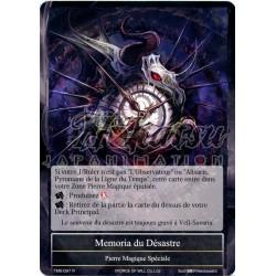 TMS-097 Memoria du Désastre