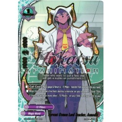 BFE D-BT01/0004EN RRR Fervent Demon Lord Teacher, Asmodai