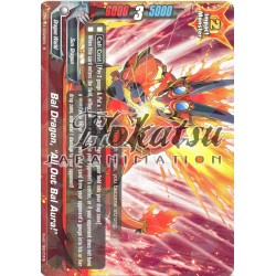 "BFE D-BT01/0028EN R Bal Dragon, ""All Out Bal Aura!"""