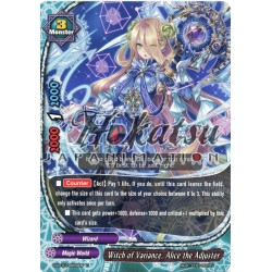BFE D-BT01/0059EN U Witch of Variance, Alice the Adjuster