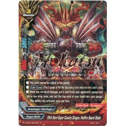 BFE F-D-BT01/0021EN R/Foil Fifth Omni Super Cavalry Dragon, Hellfire Sword Doble