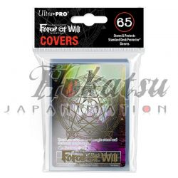 UP - Sleeves Covers Standard - Force of Will - Gold Circle Clear (par 65)