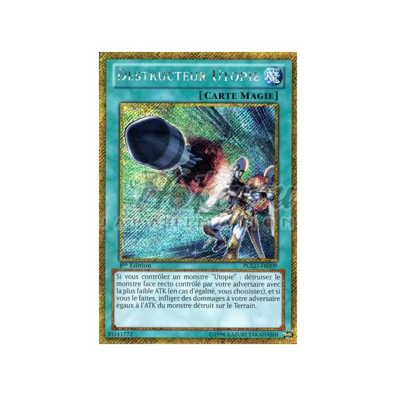 PGLD-FR009 VF//GOLD SECRET RARE ♦Yu-Gi-Oh!♦ Destructeur Utopie//Utopia Buster