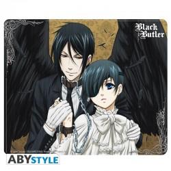 BLACK BUTLER - Tapis de souris Sebastian et Ciel
