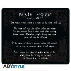 DEATH NOTE - Tapis de souris Rules