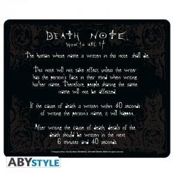 DEATH NOTE - Mouse Pad Rules