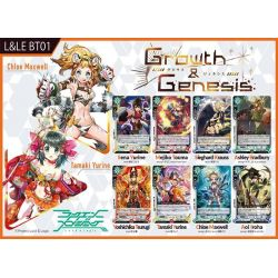 Luck & Logic Boîte de 20 Boosters BT01 Growth & Genesis