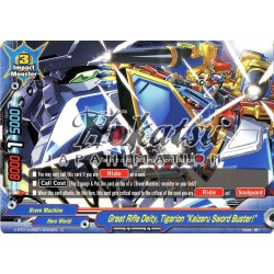 """BFE D-BT01A-EB01/0053EN C Great Rifle Deity, Tigarion, """"Kaizeru Sword Buster!"""""""