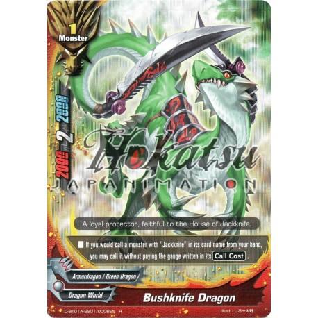 BFE D-BT01A-SS01/0006EN Foil/R Bushknife Dragon