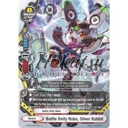 BFE D-BT02/0073EN U Battle Deity Robo, Silver Rabbit