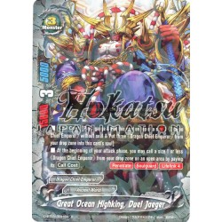 BFE F-D-BT02/0031EN Foil/R Great Ocean Highking, Duel Jaeger