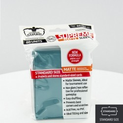 (ct 80) Ultimate Guard - Supreme Sleeves Matte Petrol
