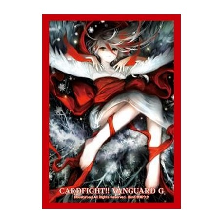 Bushiroad - 70 protèges cartes Mini Vol. 219 Cosmetic Snowfall, Shirayuki