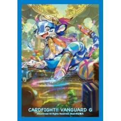 Bushiroad - 70 protèges cartes Mini Vol. 221 Crayon Tiger
