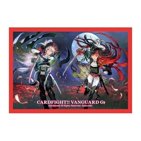 Bushiroad - 70 protèges cartes Mini Vol. 222 Lycoris Musketeer, Saul & Vera