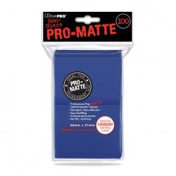 (par 100) Ultra Pro-Matte Bleu Standard Protèges Cartes