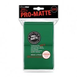 (par 100) Ultra Pro-Matte Vert Standard Protèges Cartes