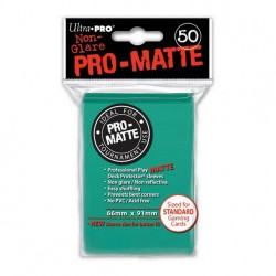 (par 50) Ultra Pro-Matte Aqua Standard Protèges Cartes