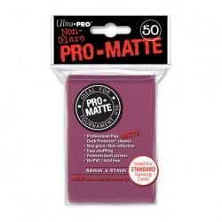 (par 50) Ultra Pro-Matte Mûre Standard Protèges Cartes