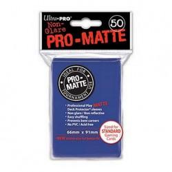 (par 50) Ultra Pro-Matte Bleu Standard Protèges Cartes