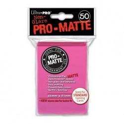 (par 50) Ultra Pro-Matte Rose Brillant Standard Protèges Cartes