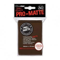 (par 50) Ultra Pro-Matte Marron Standard Protèges Cartes