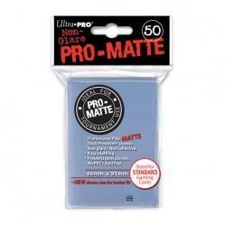 (par 50) Ultra Pro-Matte Transparent Standard Protèges Cartes