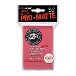 (par 50) Ultra Pro-Matte Fuchsia Standard Protèges Cartes