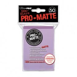 (par 50) Ultra Pro-Matte Lilas Standard Protèges Cartes