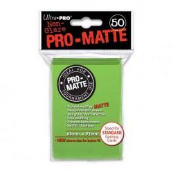 (par 50) Ultra Pro-Matte Citron Vert Standard Protèges Cartes