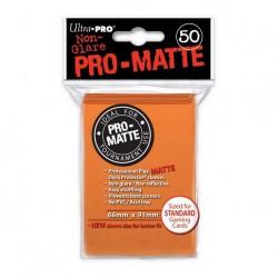 (par 50) Ultra Pro-Matte Orange Standard Protèges Cartes