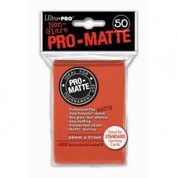 (par 50) Ultra Pro-Matte Pêche Standard Protèges Cartes