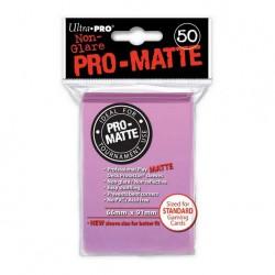 (par 50) Ultra Pro-Matte Rose Standard Protèges Cartes