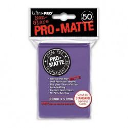 (par 50) Ultra Pro-Matte Violet Standard Protèges Cartes